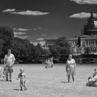 THE NATIONAL MALL: AMERICA'S FRONT YARD by DAVID BURNETT